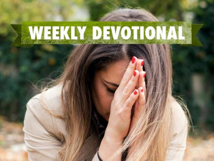 Weekly Devotional: Woman Praying