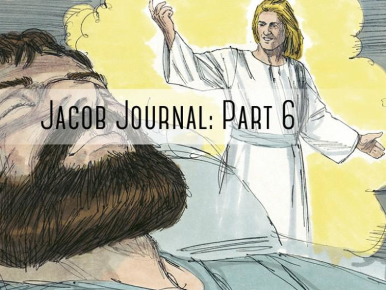 """picture of Jacob with """"the jacob journal"""" typed on it"""