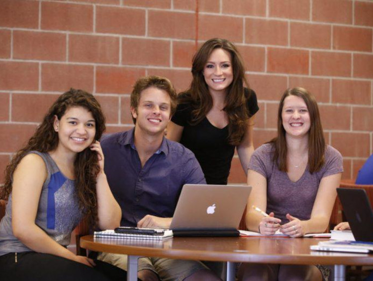 group of GCU students