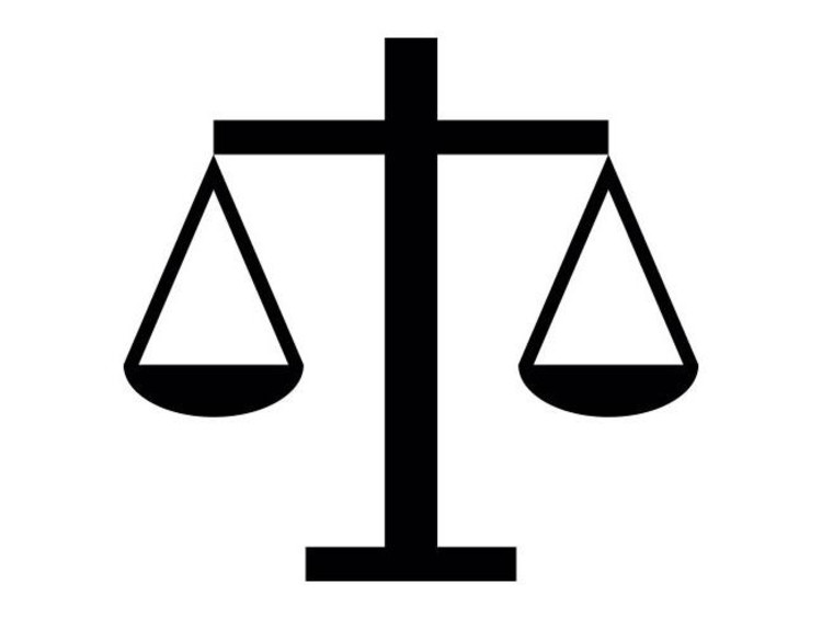 icon of a balance scale