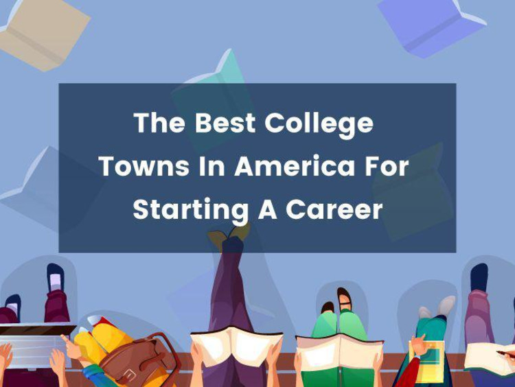 best college towns for starting a career