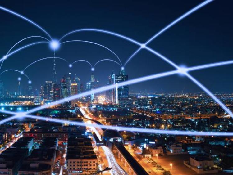 tech lights shooting across the world
