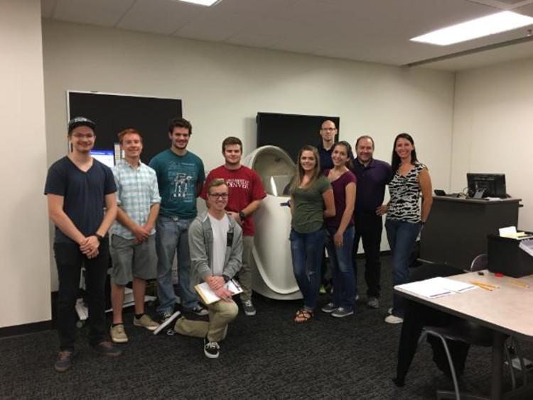 GCU's POWER lab students