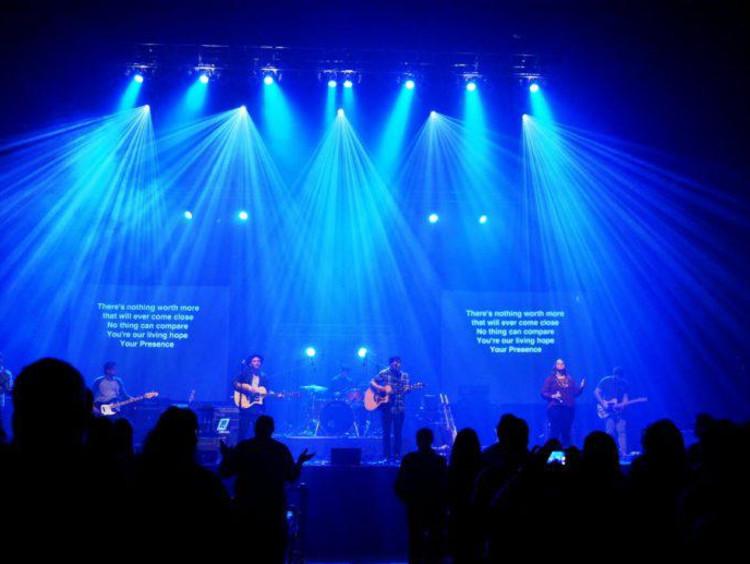 A worship concert