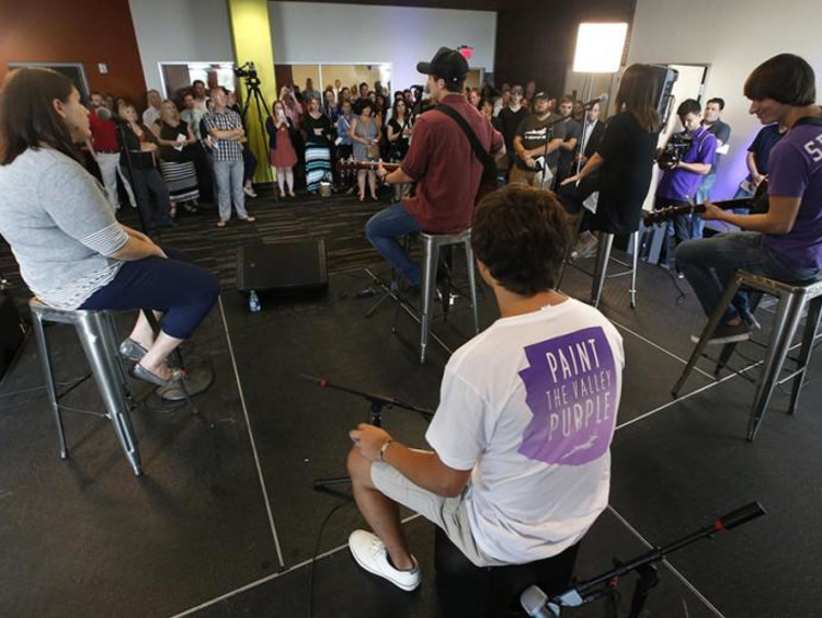 Students in GCU's Center for Worship Arts