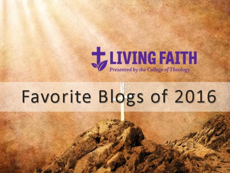 Living Faith favorite blogs of 2016