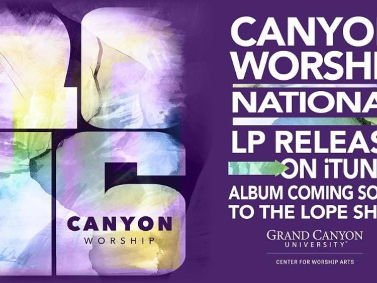 Canyon Worship Album cover image