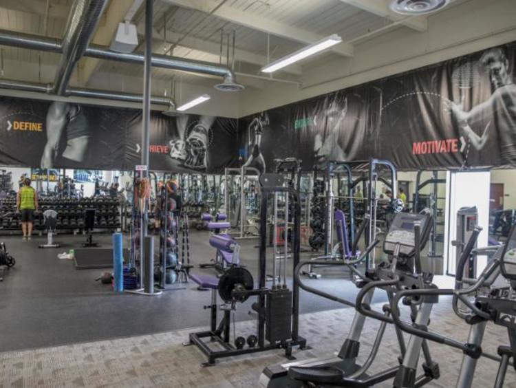 A campus gym