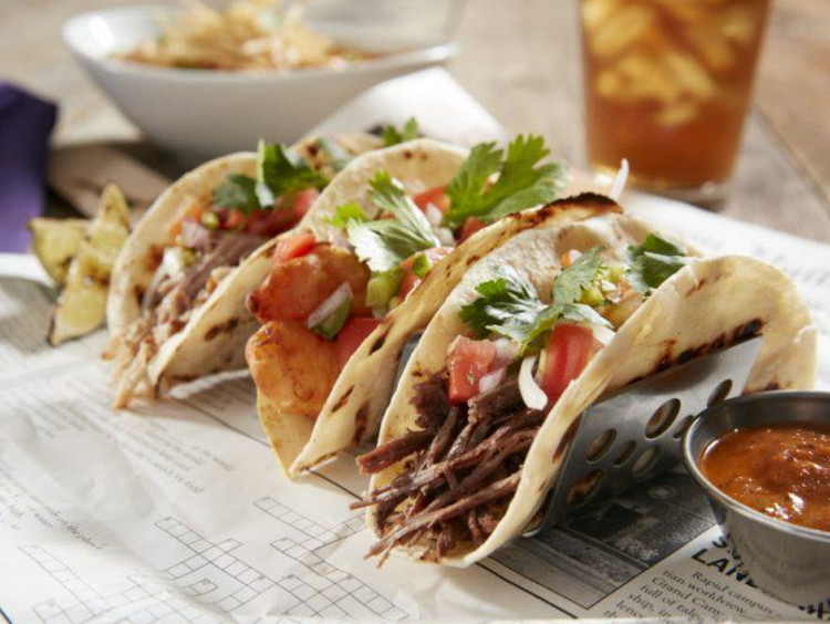 Tacos from Canyon 49 Grill