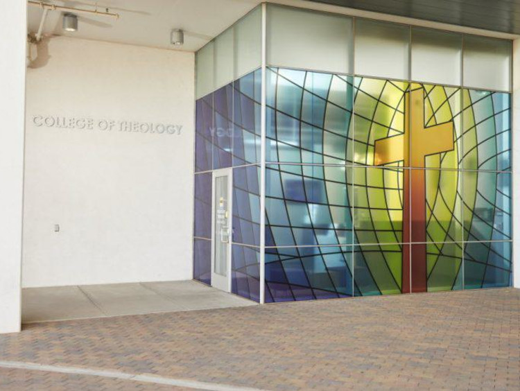 GCU's college of theology building