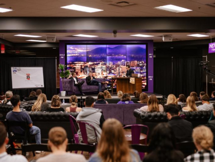 TED Talk at GCU campus