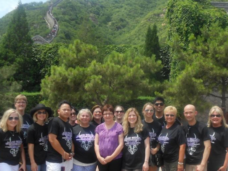 Family Nurse practitioner students travel to china for global health awareness