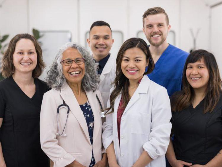 A medical team