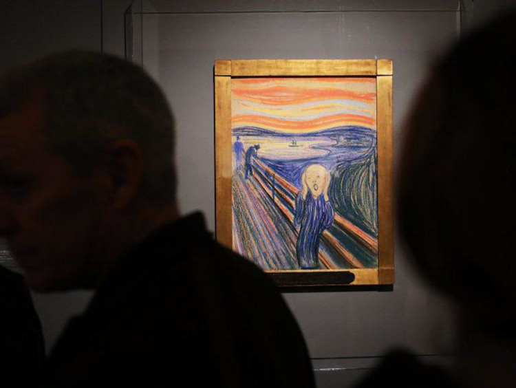 The Scream, by Edvard Munch, a painter who may have had bipolar disorder