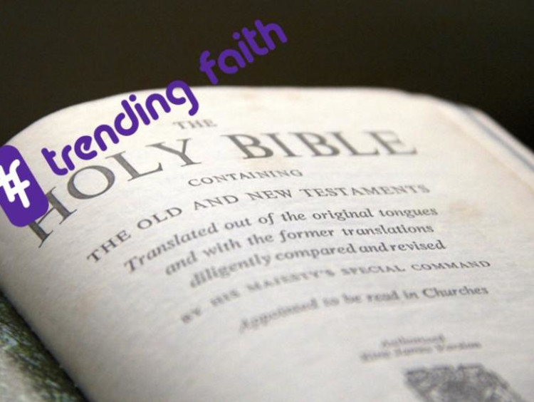 front page of the bible