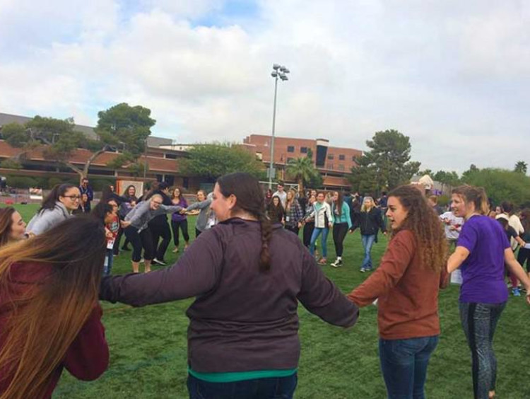 GCU students at boot camp