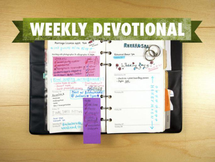 <span>Weekly Devotional: The Good Fight</span>