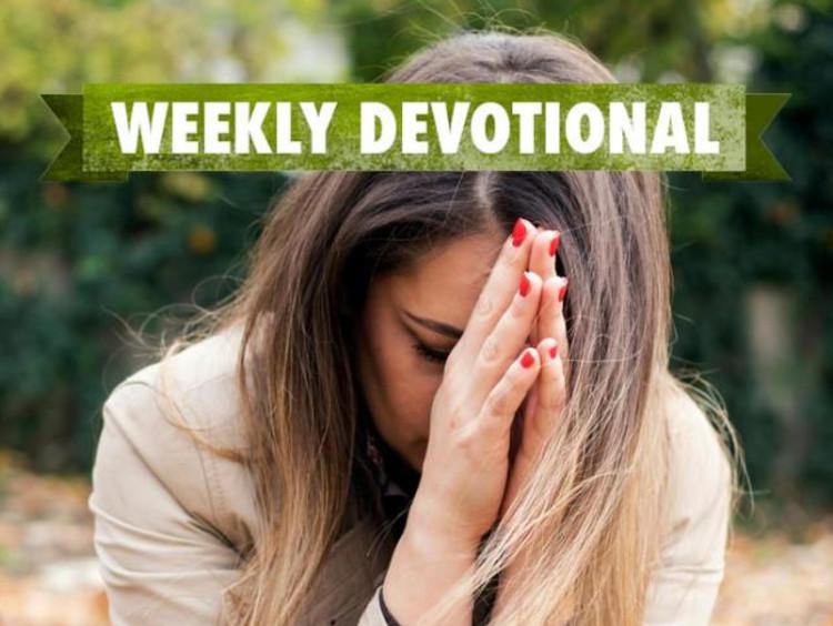Weekly Devotional: Woman Praying