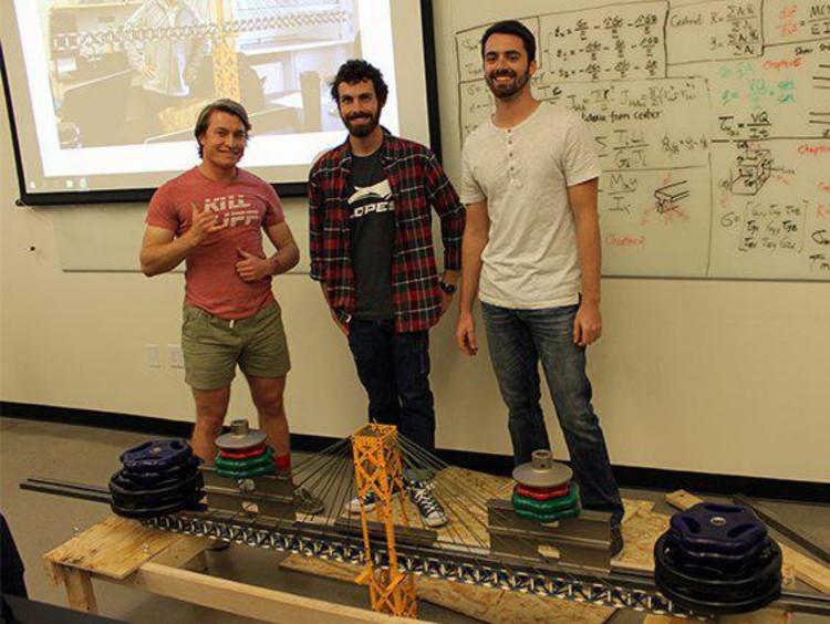 GCU engineering students