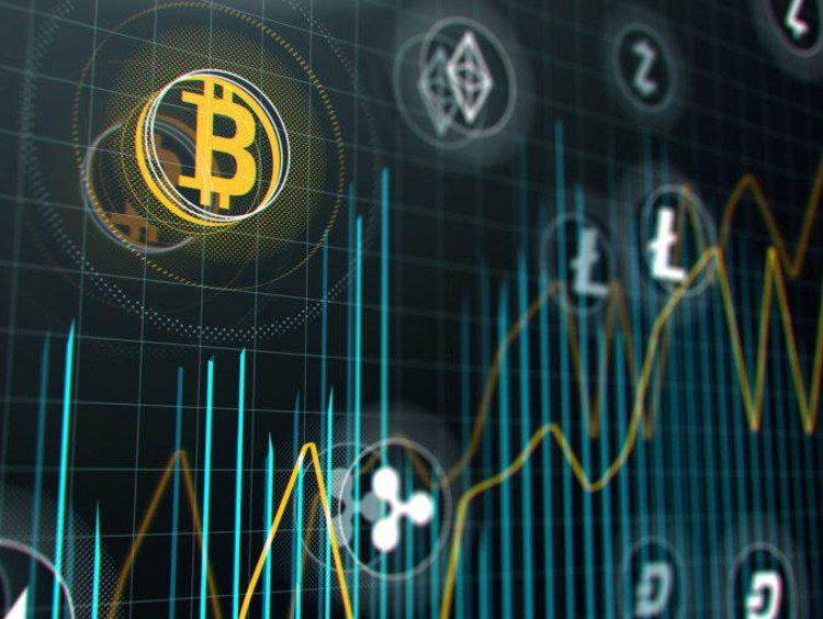 Digital currency graphic