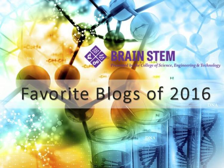 BrainSTEM favorite blogs of 2016