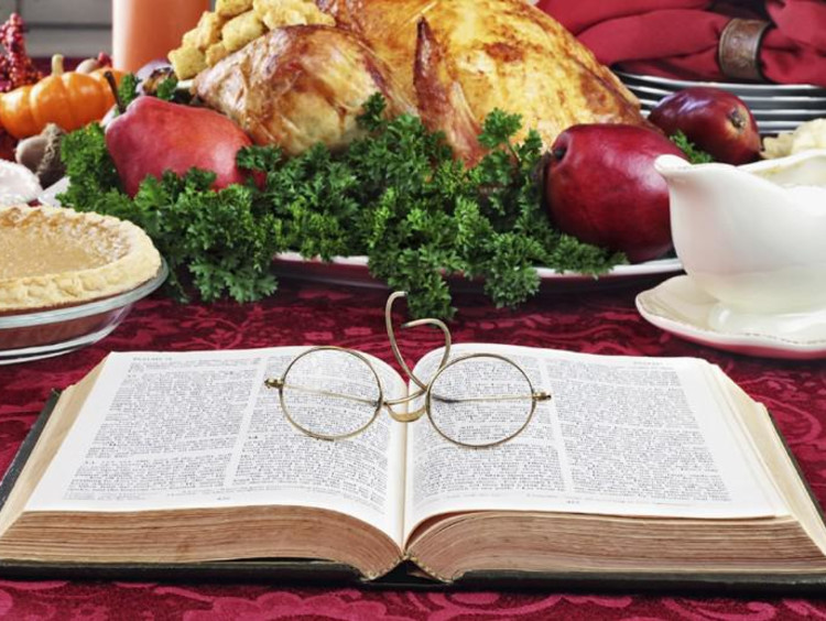 turkey and a bible