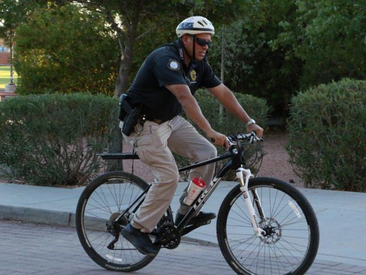 Public safety on a bike