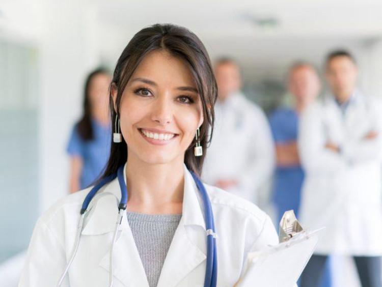 nursing students and professors