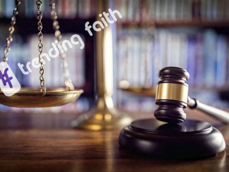 Criminal Justice courtroom setting