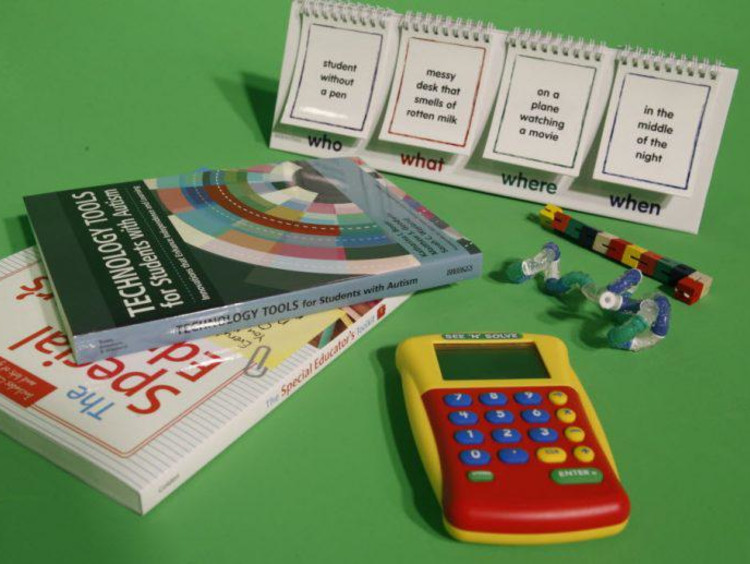 calculator and textbooks