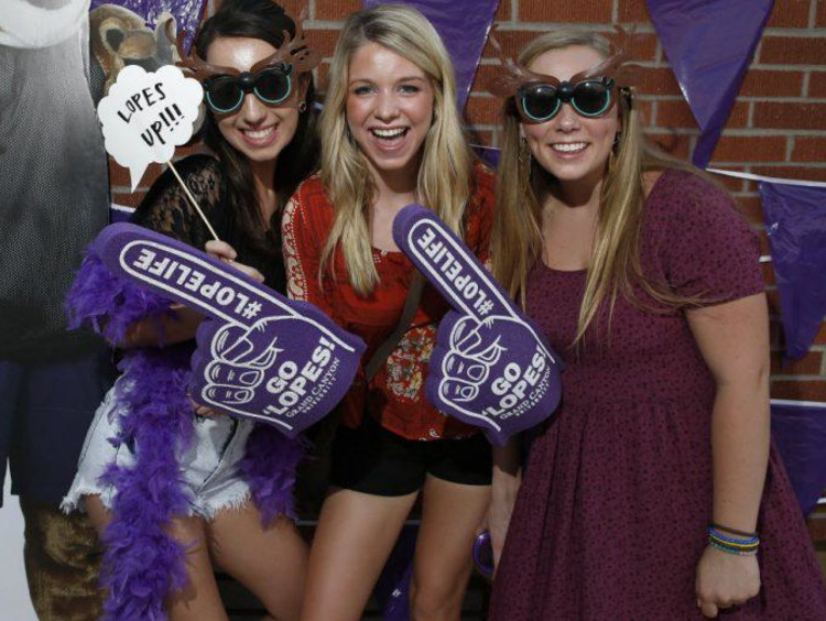 GCU students having fun