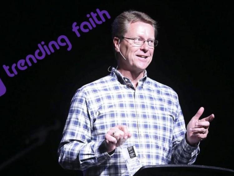 GCU Campus Pastor Tim Griffin at Chapel