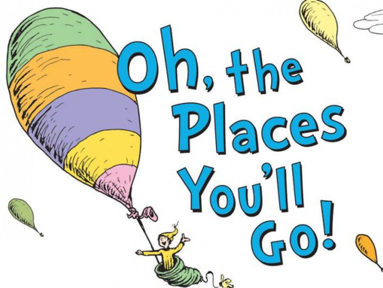 oh the places you'll go book