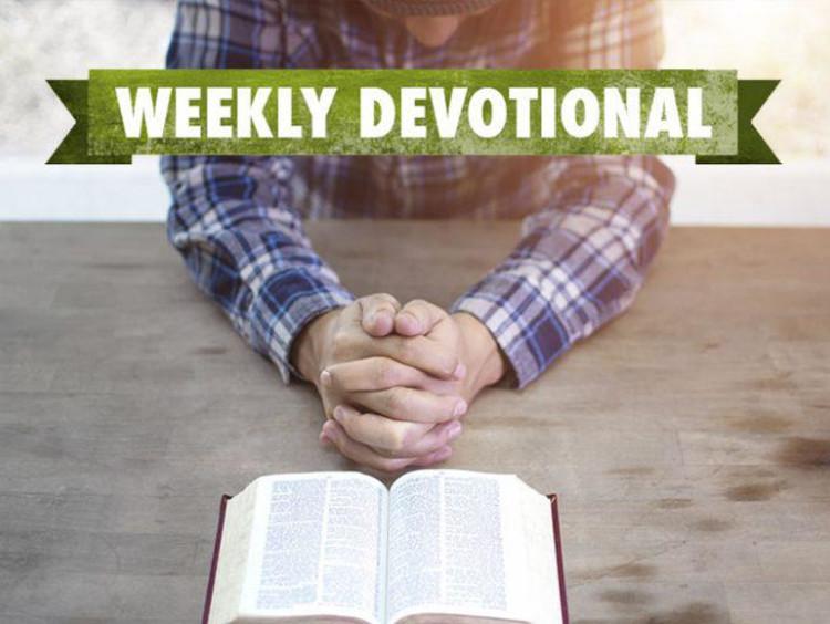 Man praying with Bible