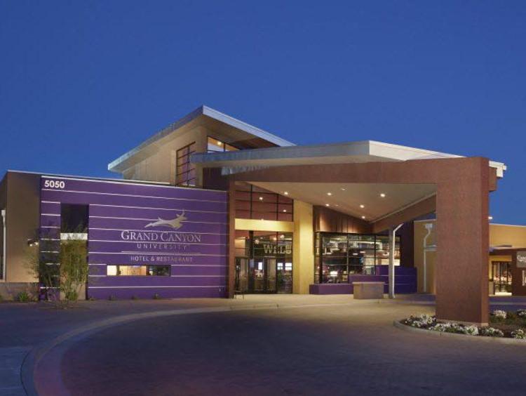 The GCU restaurant and hotel