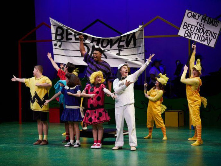 The cast of 'You're a Good Man, Charlie Brown""