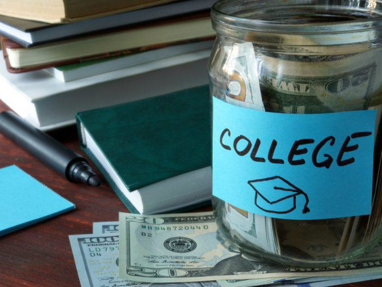 College fund in a jar