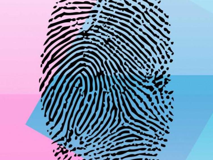 Close up of a fingerprint