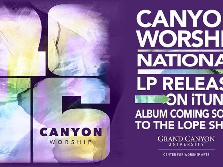 Canyon Worship Album cover image