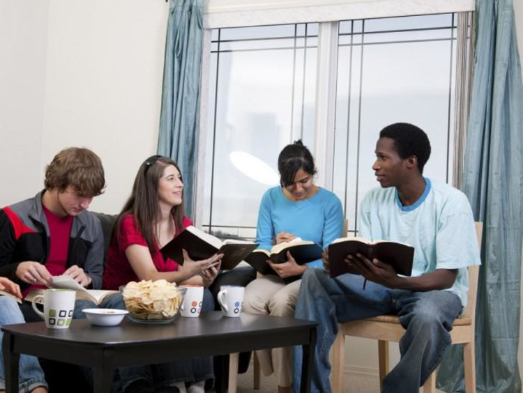 A youth Bible study