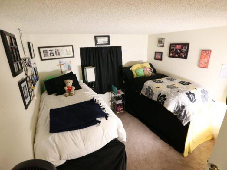 A GCU dorm room