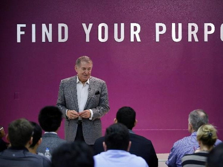 Jerry Colangelo Speaks at a CCOB event