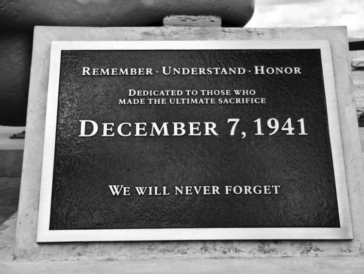Pearl Harbor Day Memorial