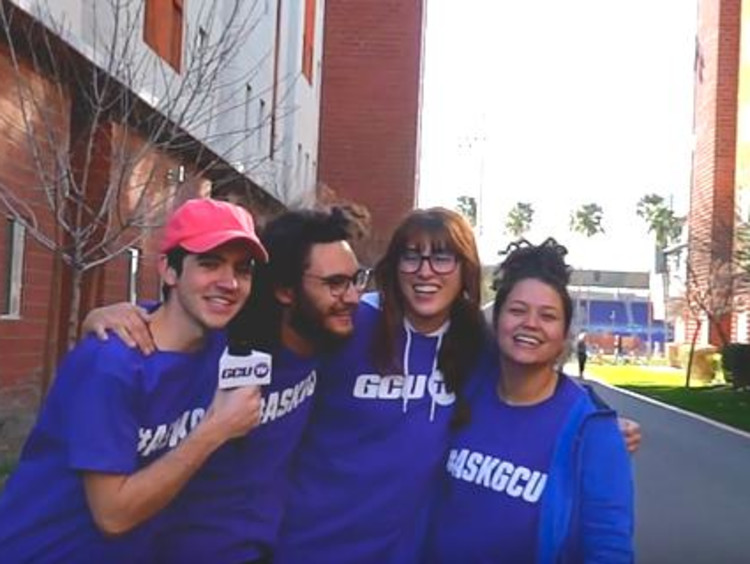 Ask GCU team on campus