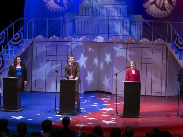speech and debate team