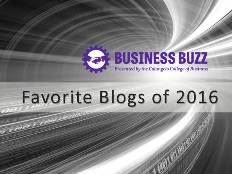 BusinessBuzz favorite blogs of 2016