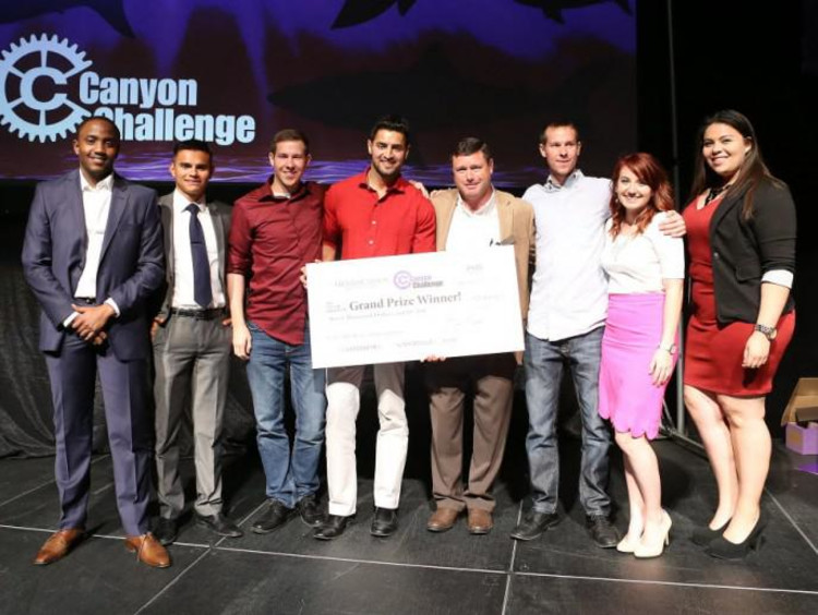 students who won the Canyon Challenge