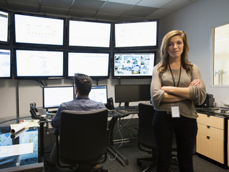 Cybersecurity analysts performing cyber defense