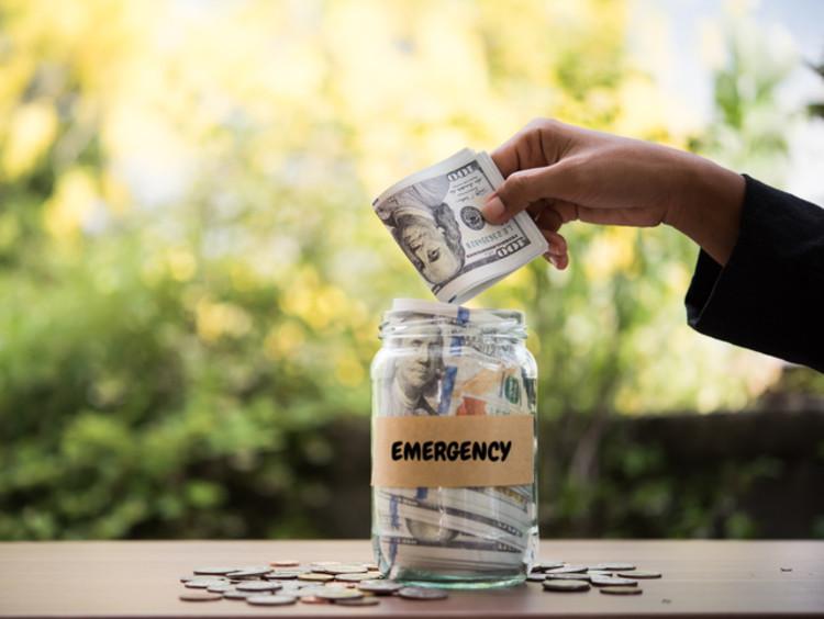 emergency money jar