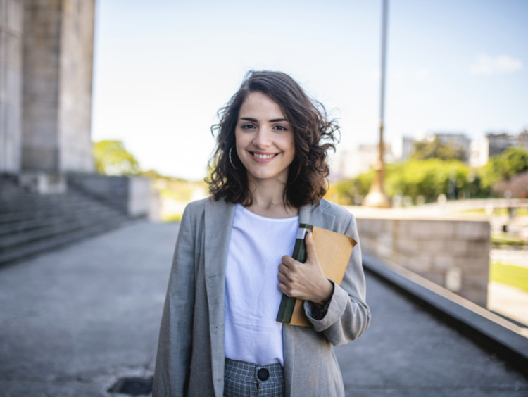 A future female law student